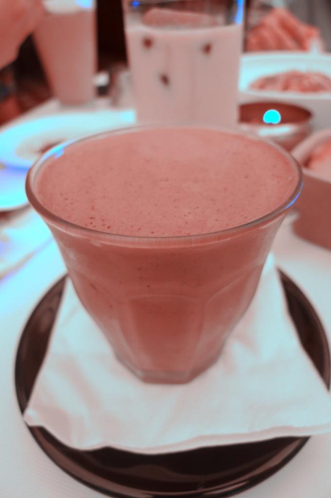Nutella Milkshake - IDR 55.000