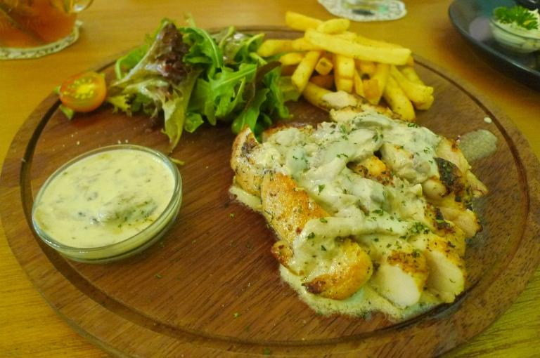 Chicken Steak Lunch - IDR 72.000