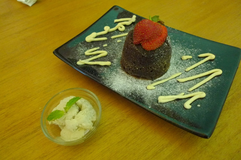 Chocolate Lava Cake - Compliment
