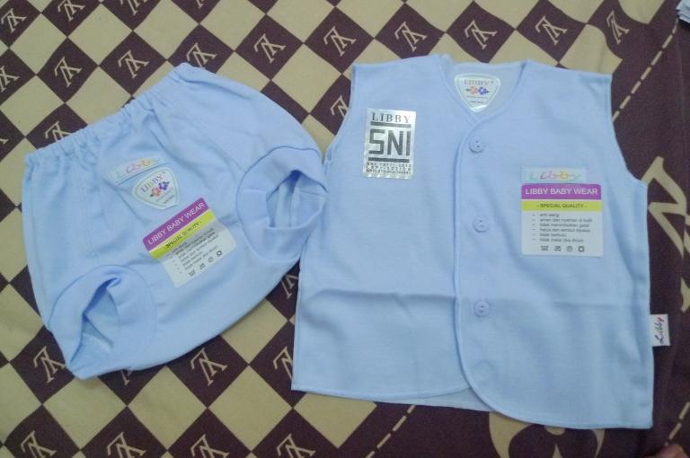 Set Baju Kutung & Celana Polos Libby - IDR 50.000