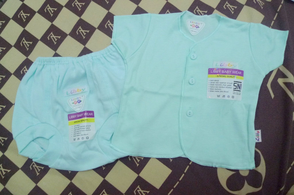 Set Baju Lengan Pendek Libby - IDR 55.000