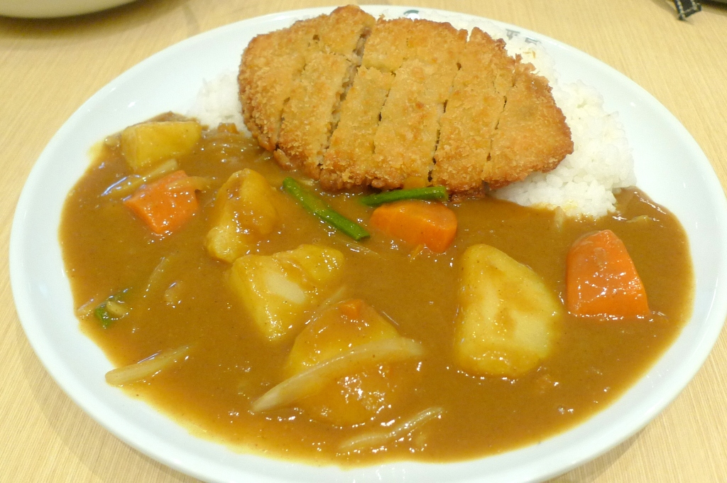 Salmon Cutlet Curry - IDR 70.000   Vegetable - IDR 18.000